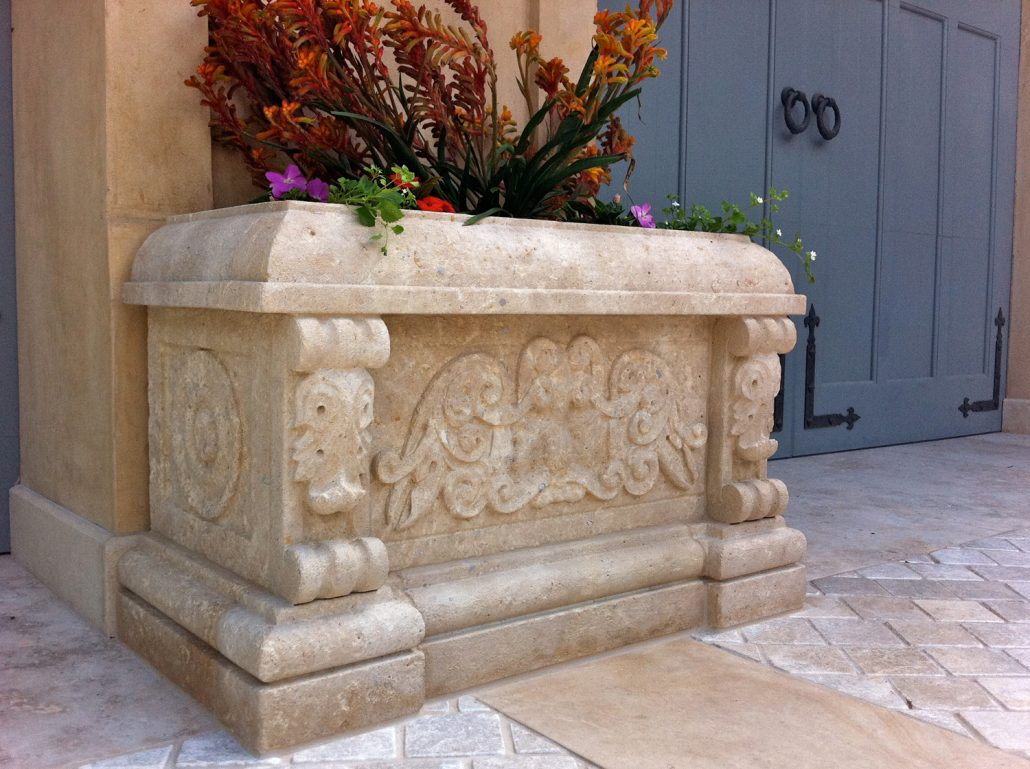 kitchen stone sears appliance packages planters & finials - bt architectural