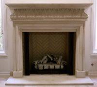 Italian & Tuscan Stone Fireplace Mantels - BT ...