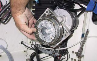 Simrad AP12R Install