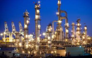 California Oil Refinery