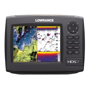 Selecting gear - Lowrance HDS 7