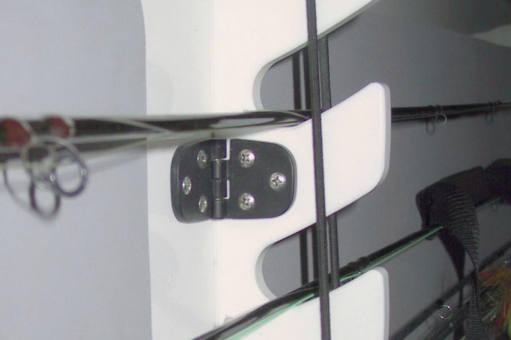 Rod Rack Hinge Detail
