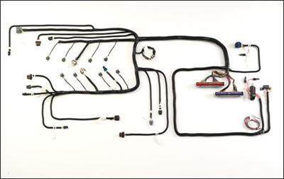 wiring harness gm vortec 1999 04 gen iii 5 3l w 4l60e 4l80e rh btbprod com EZ Wiring 21 Circuit Harness EZ Wiring 21 Circuit Harness