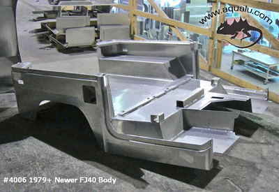 Aluminum Body Tub 1979 And Newer Fj40 Toyota Land Cruiser