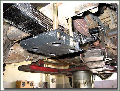 U Bolt Skid Plate Kit Fj40 55 Toyota Land Cruiser No Shock