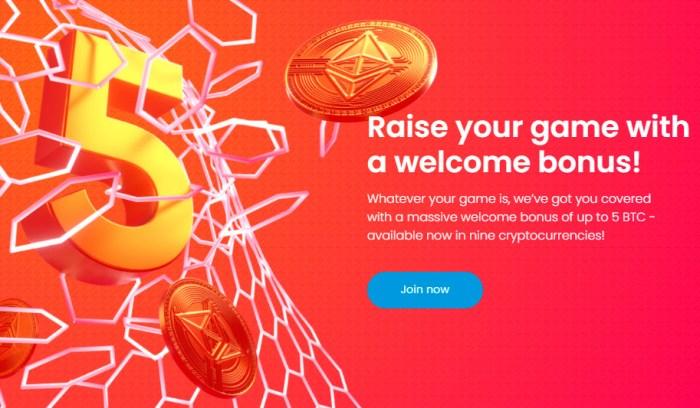 Bet bitcoin on us open