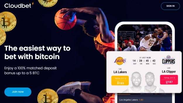 Cryptocurrency online Basketball bet online