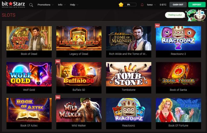 Ultimo bonus Bitcoin Casino 2021