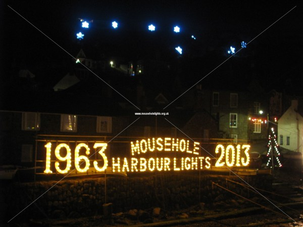 Mousehole Harbour Lights - Christmas 2013