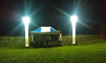 Worth Valley Yfc - Outdoor Event Lighting