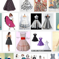 50s #retrostyle patterns and outfits