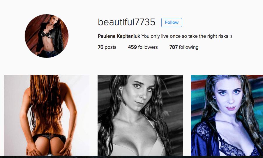 #Canadian #Model Paulena Kapitaniuk