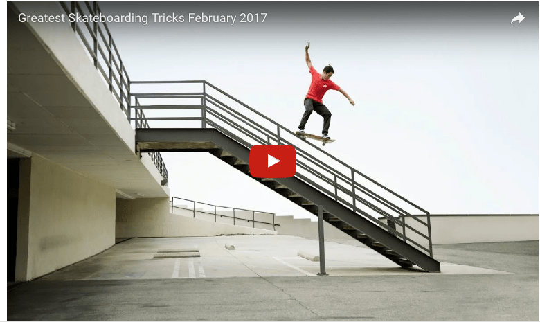 Best #Skateboard Tricks 2017 #sk8