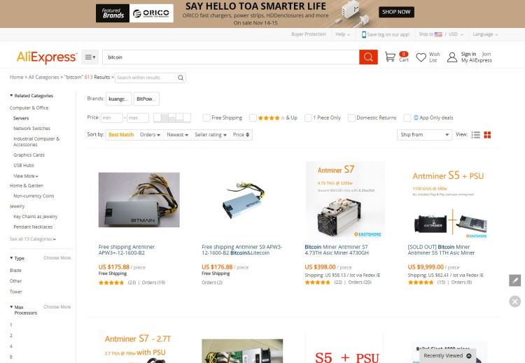 bitcoin-on-alibaba-aliexpress