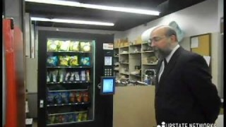 World's First Bitcoin Vending Machine