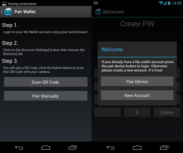 Review of Blockchain bitcoin wallet for Android