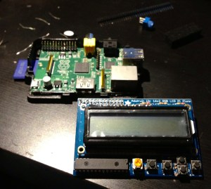 raspberry pi and lcd