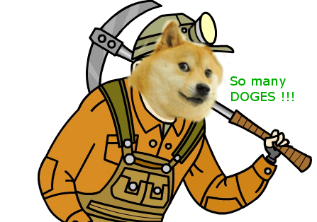 Digging the Dogecoin