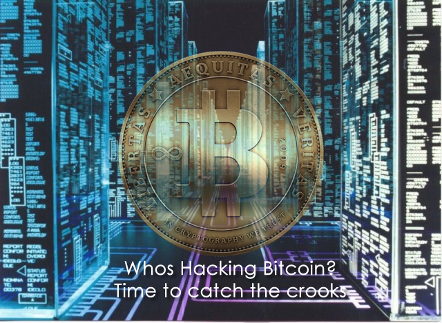 What is being done to catch the Bitcoin Crooks?