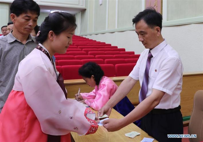 DPRK-PYONGYANG-ELECTIONS-VOTING