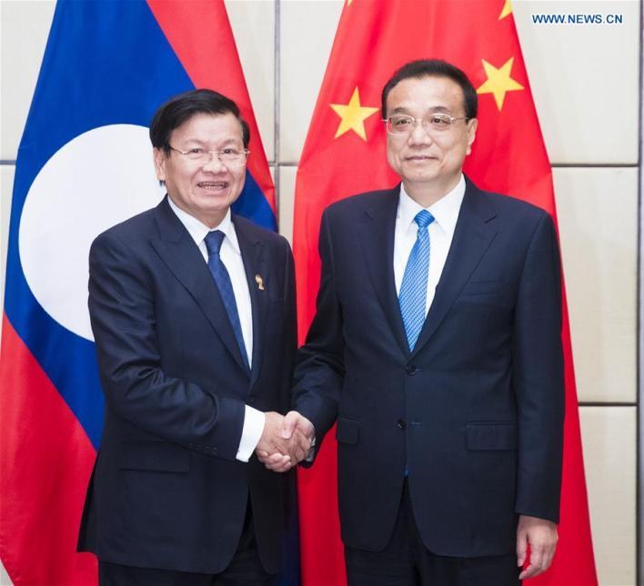 THAILAND-BANGKOK-LI KEQIANG-LAOS-PM-MEETING