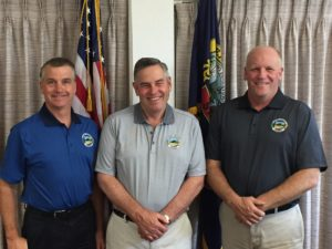 Latah County Board of County Commissioners: Pictured above from left to right: Tom Lamar (District II), Richard Walser (Chair, District I), and Dave McGraw (District II)""