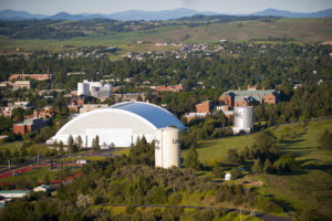 The University of Idaho campus in Moscow, Idaho.