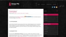 Design Pile Pink