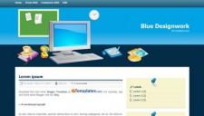 Blue Designwork