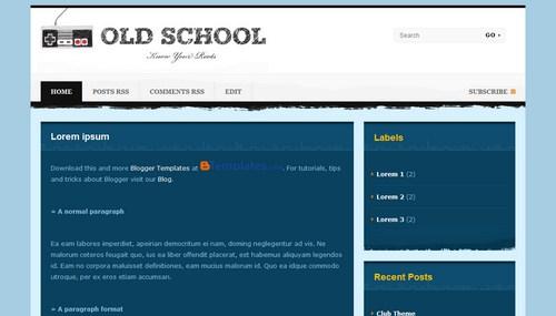 School Blogger Templates Excellent School Blogger Templates - Blogger templates #207