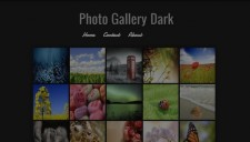 Photo Gallery Dark