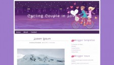 Cycling Couple in Love