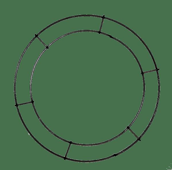 Double Rail Rings Flat Wreath Rings Goderies Tree Farm