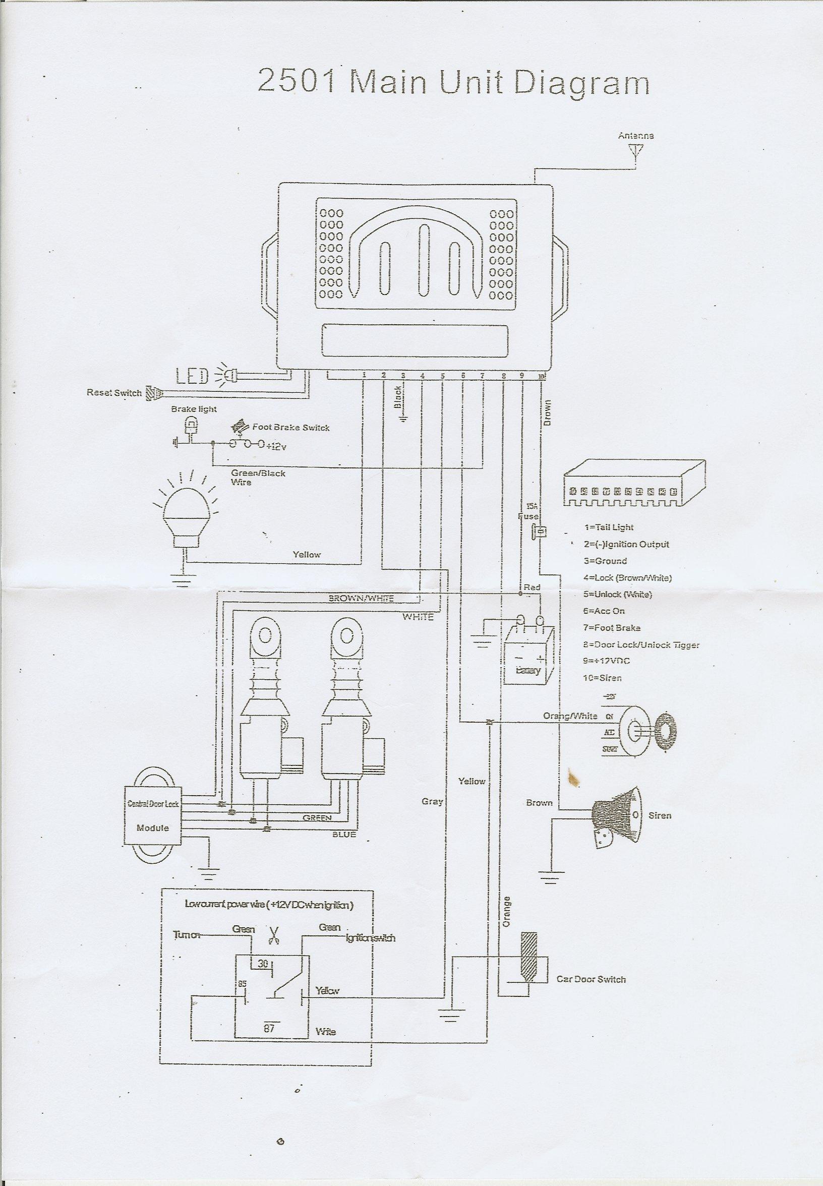 simple kit car wiring diagram [ 1632 x 2352 Pixel ]