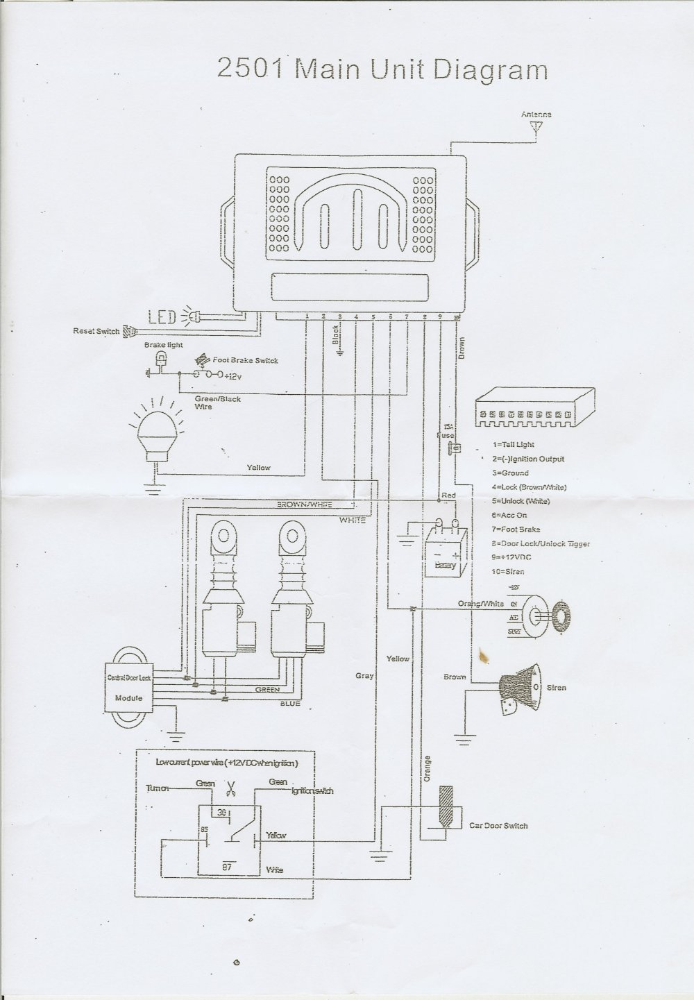 medium resolution of scan0029 central locking ford festiva central locking kit central locking actuator wiring diagram