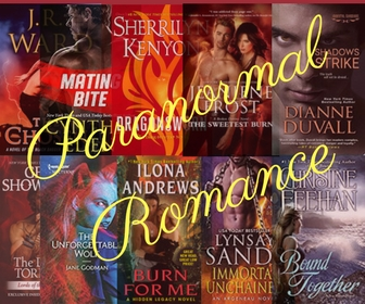 Paranormal Romance book recommendations and more