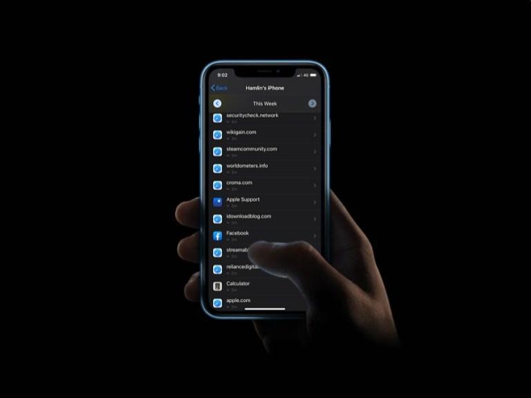 Как видеть посещенные веб-сайты с экранным временем на iPhone и iPad