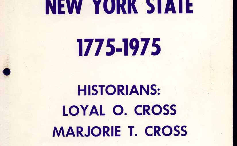 Noah Cross of England and Ulster County
