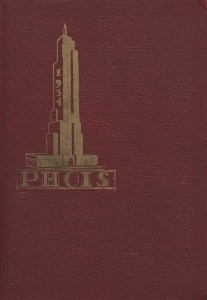 PHOIS yearbook from Poughkeepsie High School for 1934