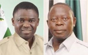 I have serious problem with Oshiomhole - Says Edo Deputy Governor, Philip Shuaibu