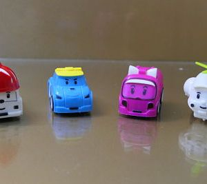 Pack of 4 Cartoon Character Toy Car