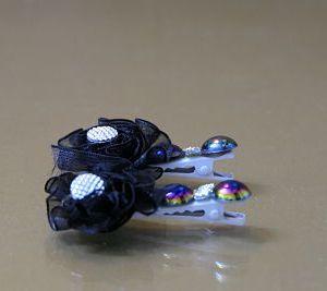 Black Hair Pin