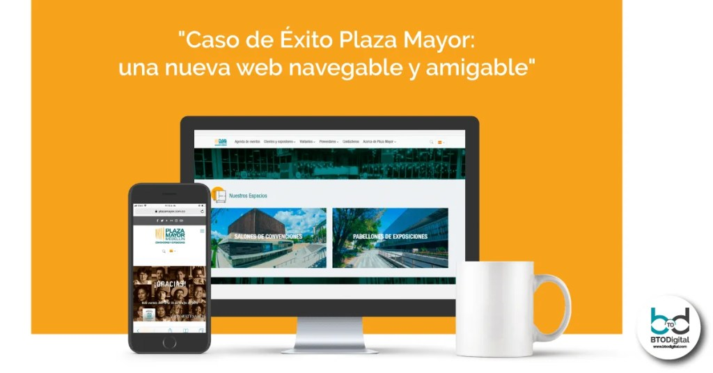 Caso de éxito Plaza Mayor: una gran web, nueva y amigable en tiempo record