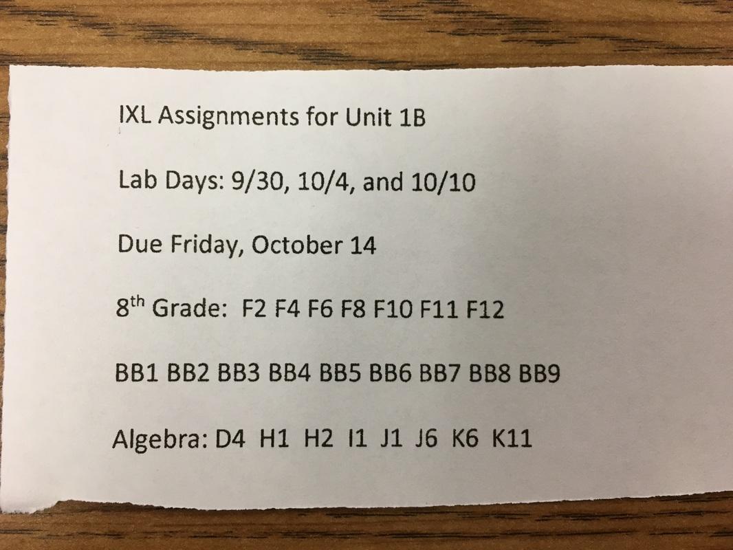 Integrated Math 1 16 17