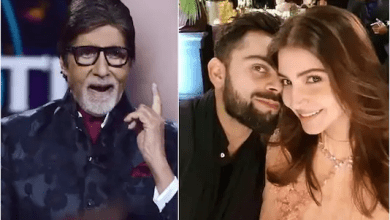 Big B Share Virat Anushka Dauaghter Photo