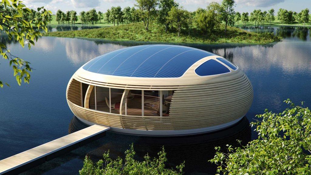 Maison flottante (waternest)