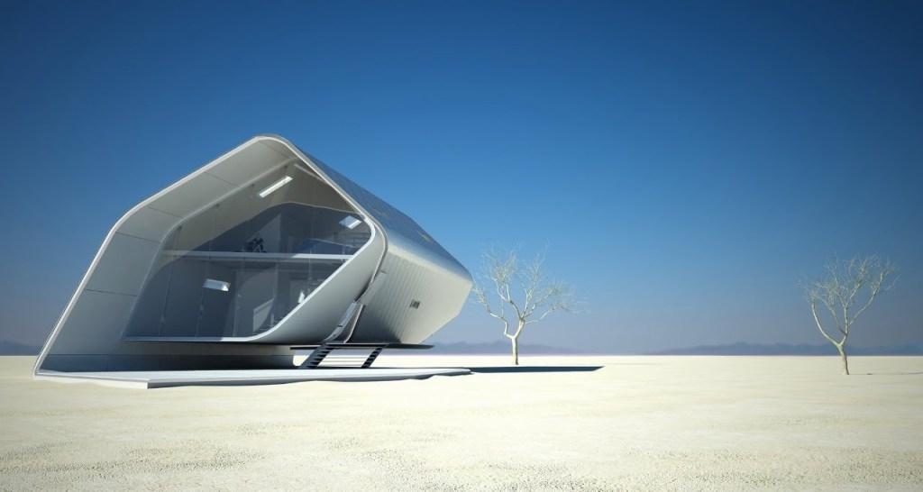 5 Maison futuriste - California Roll House