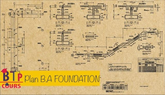 plan B.A sur BTP-cours.com