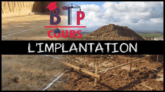 implantation d'un bâtiment