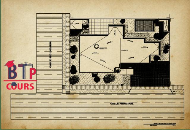 Télécharger plan maison de plage en format dwg